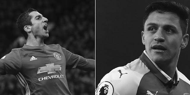 Mkhtaryan setuju, Barter pemain Arsenal - MU segera rampung