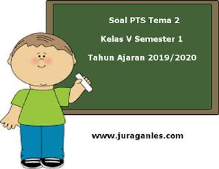 Contoh Soal PTS / UTS Tema 2 Kelas 5 Semester 1 K13 Tahun 2019/2020