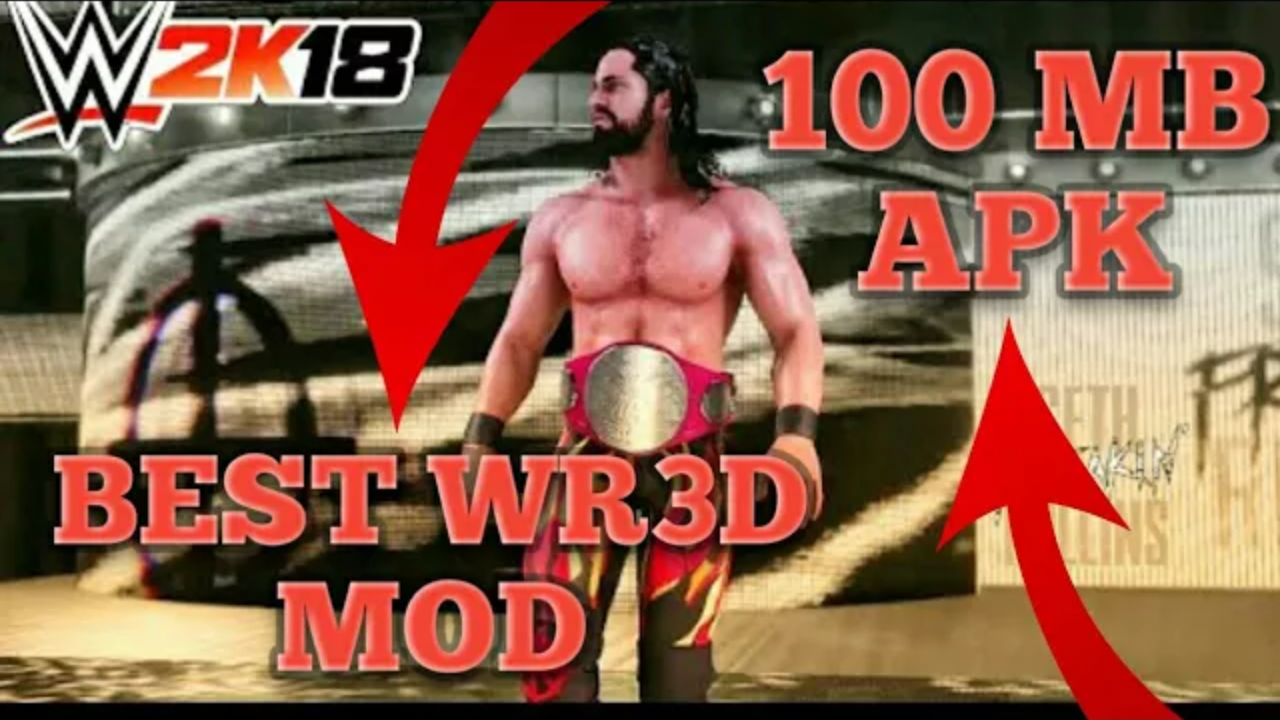 Omg] Best WR3D WWE MOD Launched|Download And Enjoy For Free