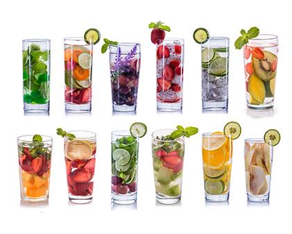 Metabolism boosting Detox waters