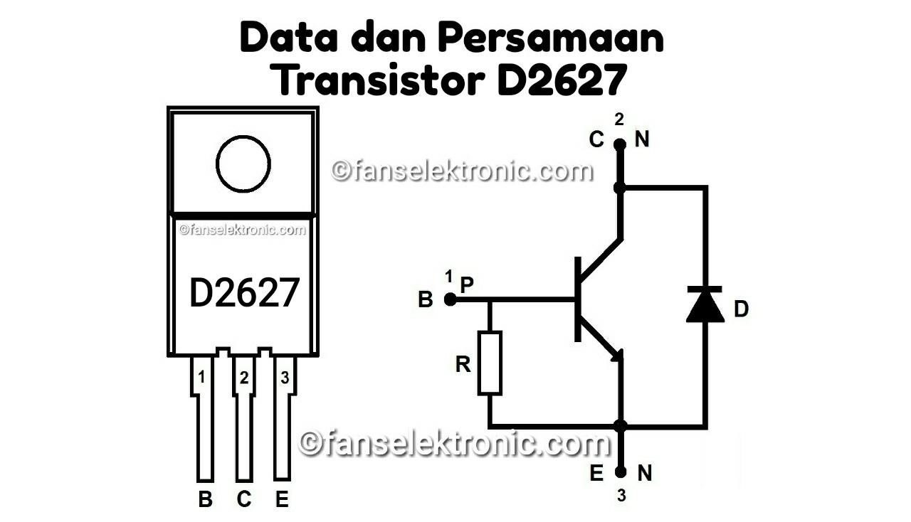 Persamaan Transistor D2627