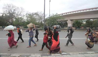 lockdown-latest-update   दिल्ली-यूपी बॉर्डर पर पलायन करने वाले मजदूरों के लिए 1000 बसें उपलब्ध
