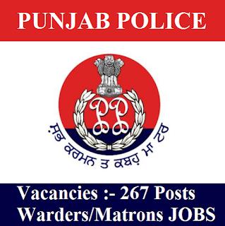 Punjab Police, 12th, Police, Punjab, Matron, warden, freejobalert, Sarkari Naukri, Latest Jobs, punjab police logo