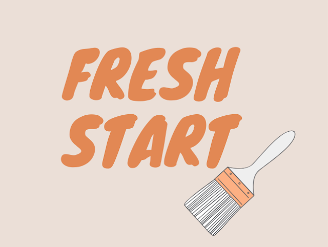Fresh Start Goals Graphic Design