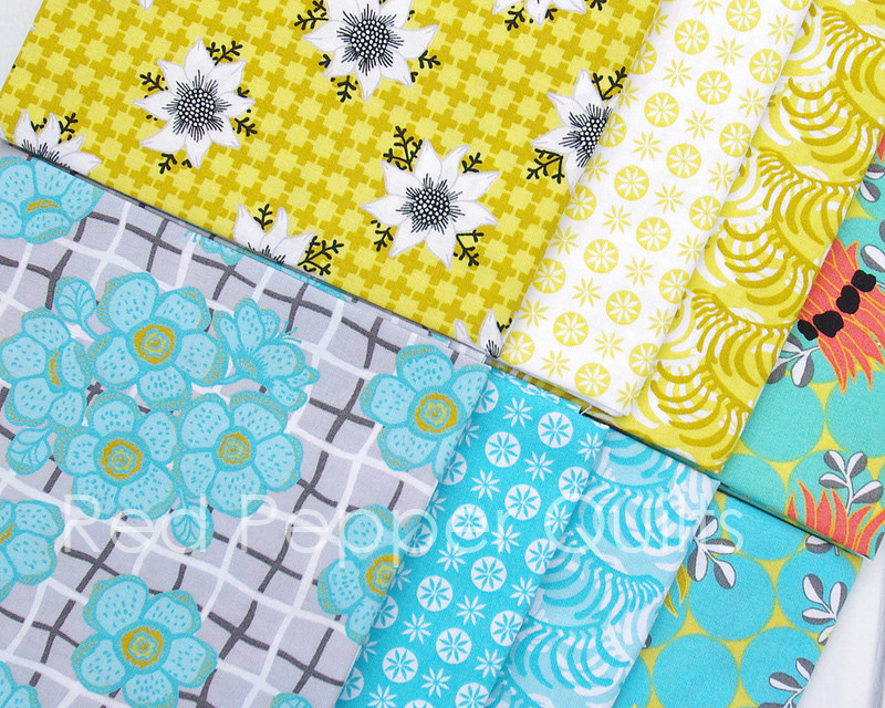 Matilda by Emma Jean Jansen for Ella Blue Fabrics | © Red Pepper Quilts 2016