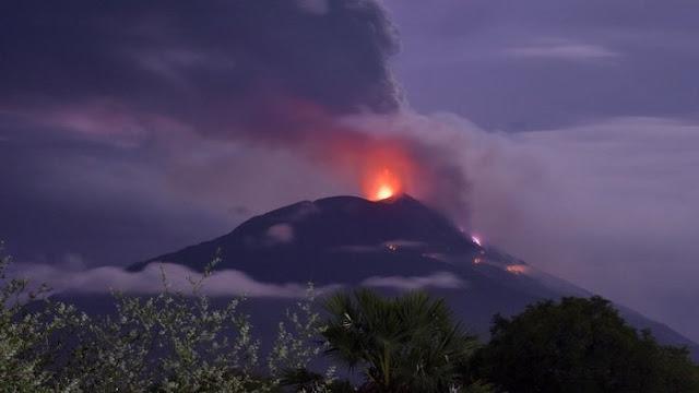 Suara Duka Dari Lembata : Meletusnya Gunung Ile Lewotolok. Ayo Kita Bantu