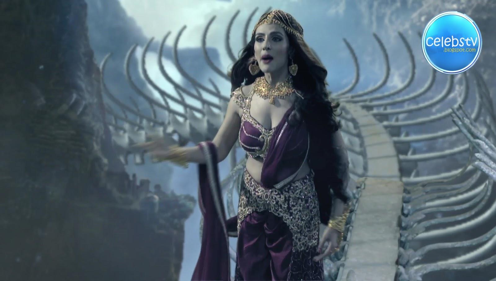 Sudeepa Singh Aka Rani Pari Very Hot Sexy Deep Cleavage -4678