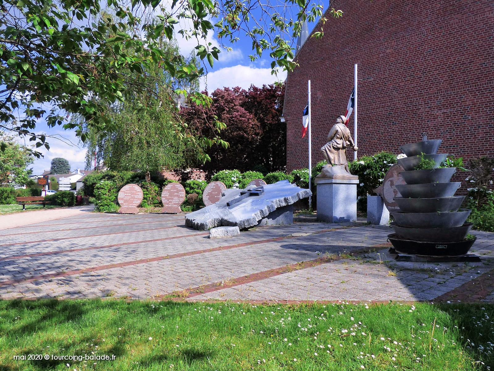 Monument aux Morts, Square Lemahieu, Templemars 2020