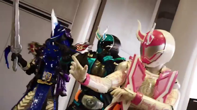 Kamen Rider Specter X Kamen Rider Blades New Form & New Rider Clip