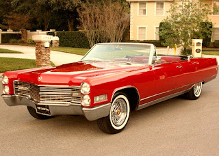 1966 Cadillac Eldorado Coupe Convertible Front Left