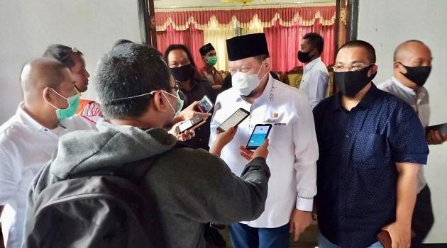 Hubungan DPRD dengan Pemkab Jember, Menjadi Sorotan Ketua DPD LaNyalla