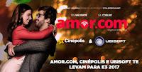 Promoção Amor.com Cinépolis & Ubisoft