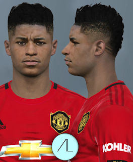 PES 2017 Faces Marcus Rashford by Alief
