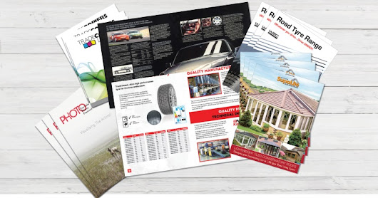 Brochure & Booklets Printing In Cardiff