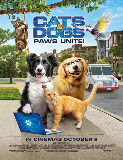 Gatos y perros 3: Patas unidas