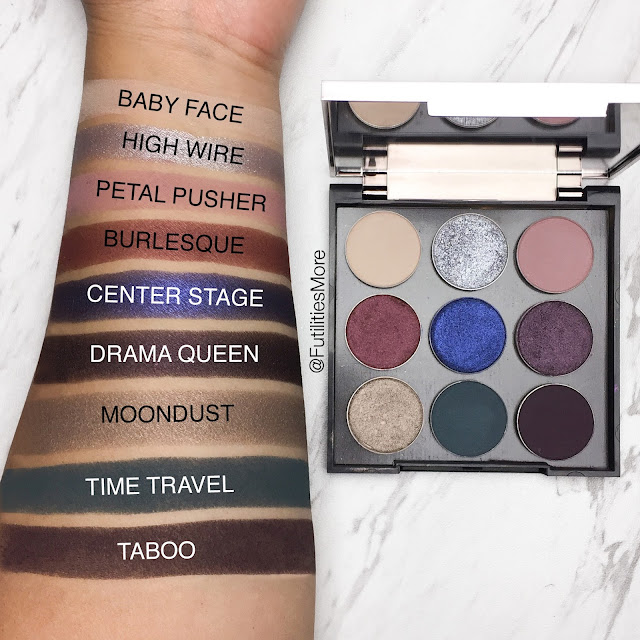 Kylie Cosmetics Holiday palette dupes with Makeup Geek eyeshadows, futilitiesmore, futilitiesandmore, futilities and more