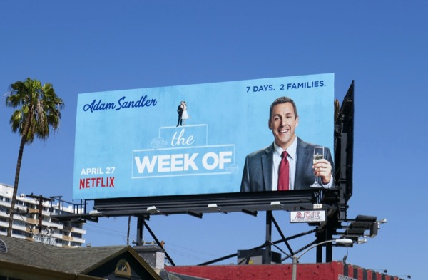 Adam Sandler Week Of movie billboard