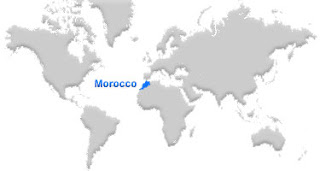image: Morocco map location