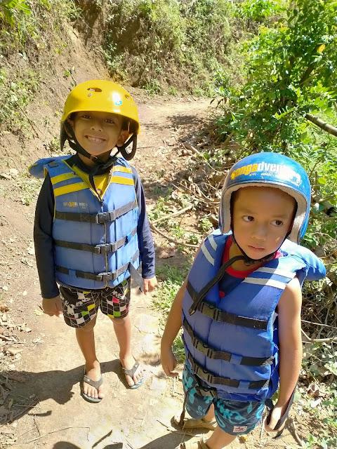 rafting bareng anak