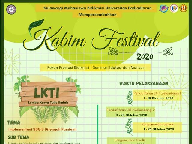 Kulawargi Mahasiswa Bidikmisi Unpad Gelar Kabimfest 2020: Prediksi dan Seminar Edukasi