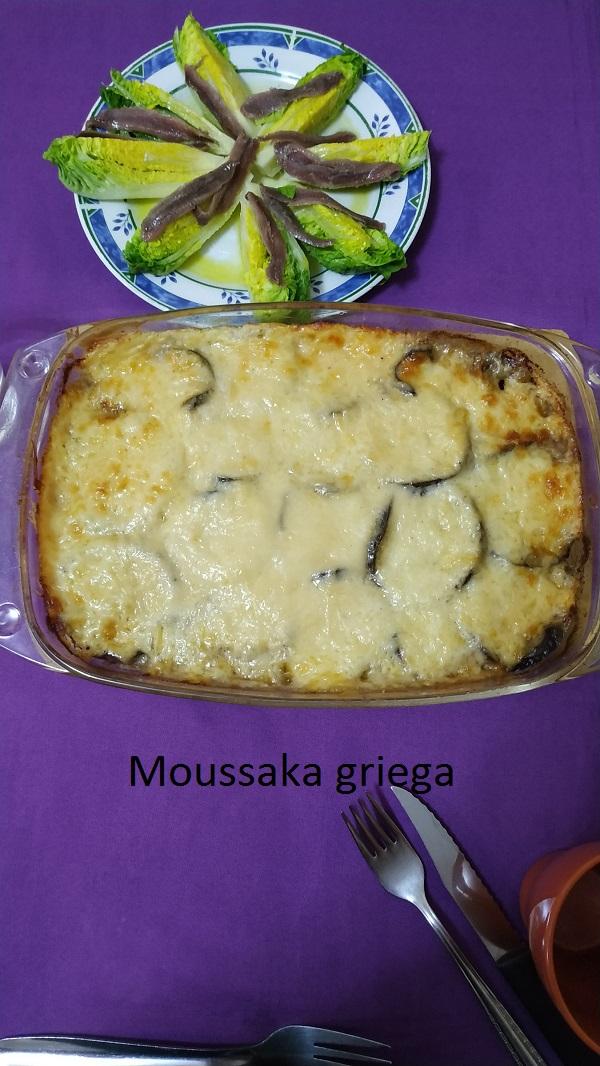Moussaka griega