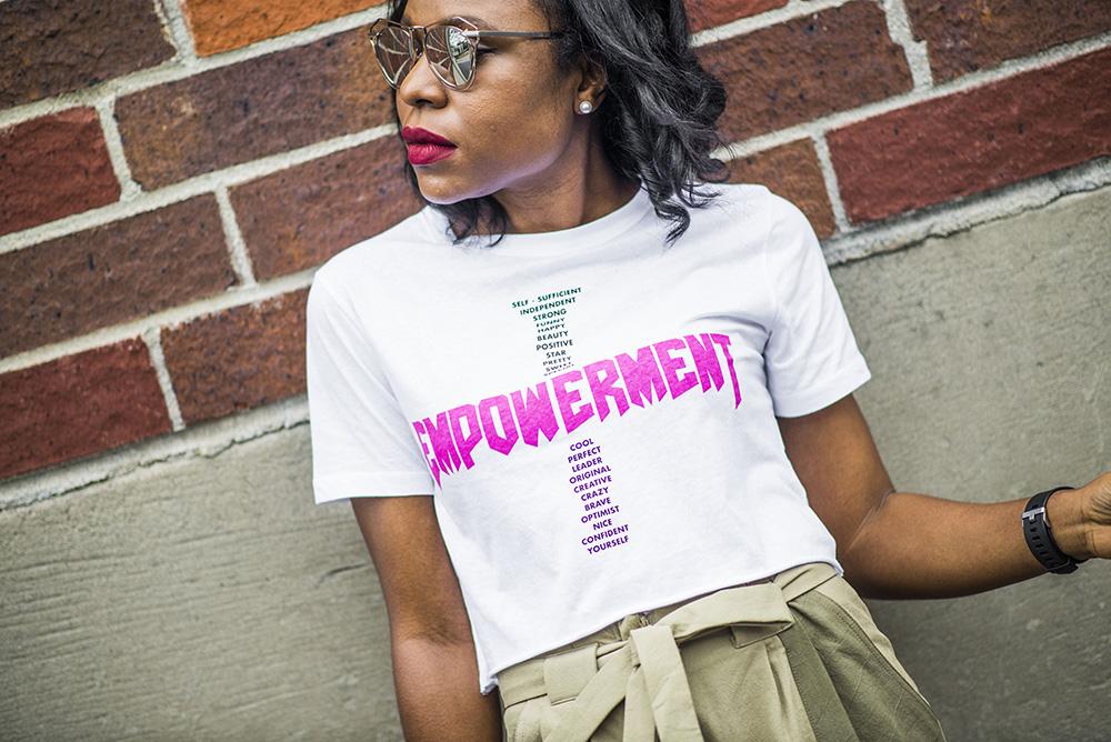 Spring Trends: Khaki Pants & Graphic T-shirt
