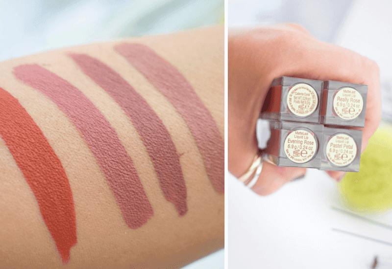 Pixi Mattelast Liquid Lip, Test und Review, wie gut sind die matten Pixi Lippenstifte?