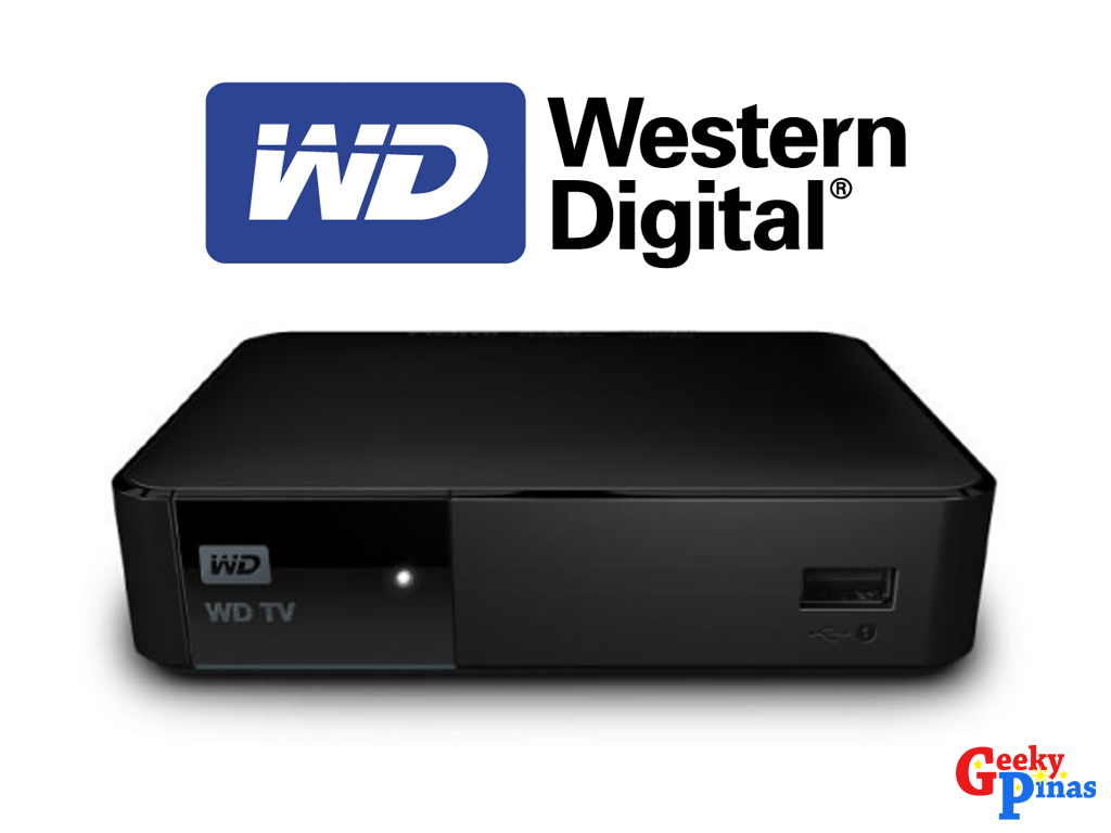 WD TV Simplifies Personal Content Playback on any TV |  PHP 4,890