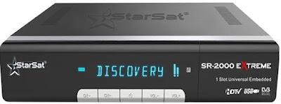 مميزات ومواصفات وسعر رسيفر StarSaT 2000 HD Extreme