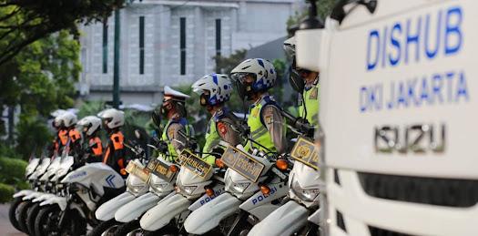 Anies Berharap Operasi Lintas Jaya Tumbuhkan Budaya Tertib Lalu Lintas