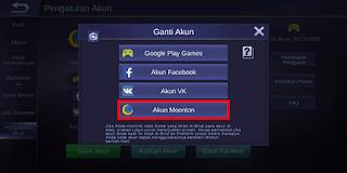 Cara Daftar dan Bind Akun Moonton di Mobile Legends