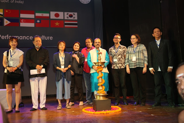National School of Drama welcomes directors, faculty members and students of drama schools from across Asia Pacific Region in its campus with inauguration of the 9th Asia Pacific Bureau Meet-2016