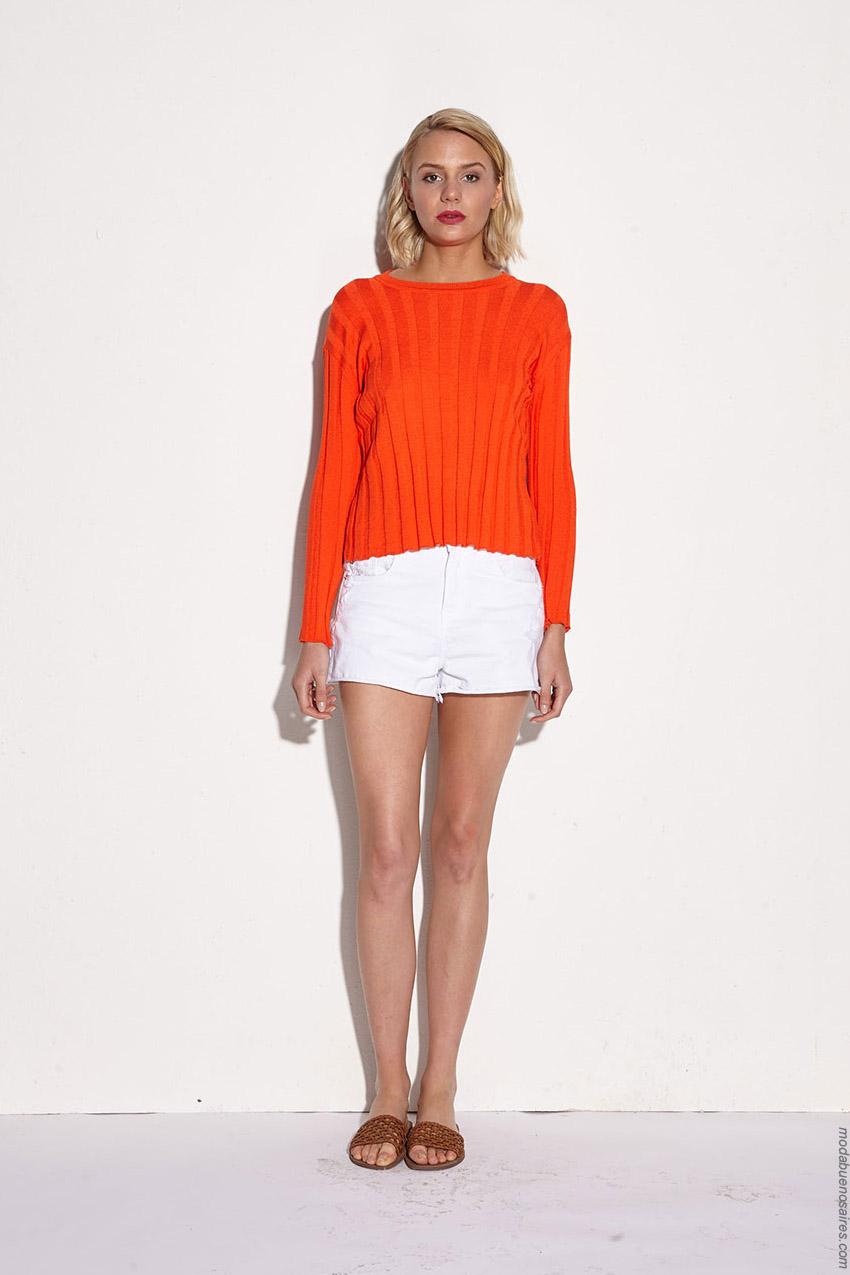 Sweaters primavera verano 2020 moda mujer.