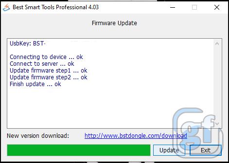 BST 4.03 Update Firmware