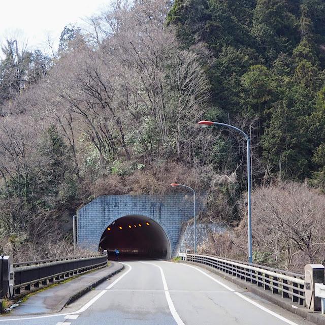 足柄路 地蔵堂トンネル