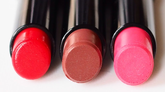 Givenchy Rouge Interdit Vinyl - Rouge Rebelle, Beige Indecent & Rose Transgressif