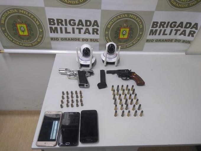 Homem é preso com duas armas no Itacolomi em Gravataí