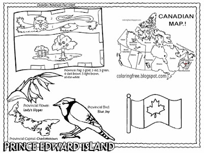 Blue jay wildlife bird Canada drawing Charlottetown City Pt. Edward Island Canadian colouring pages