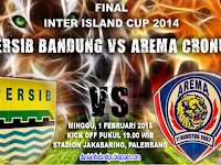 Persib vs Arema Cronus - Final IIC 2014