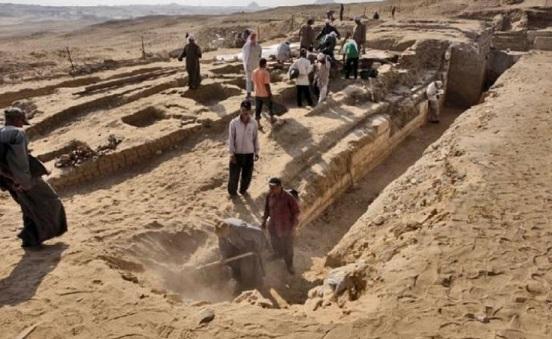 Découverte d'une ancienne cité égyptienne vieille de 7000 ans