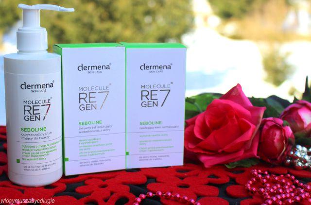 Dermena Skin Care Seboline – normalizująca seria kosmetyków dla cery mieszanej, trądzikowej