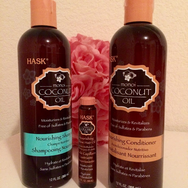 Hask Moni Coconut Oil Hair Treatment Review