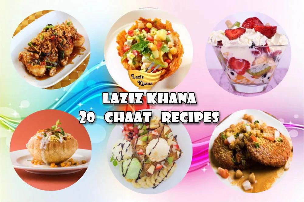 20 Chaat Recipes in Hindi