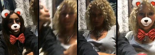 Video de Diana Quer y su madre Diana transformándose en osas.