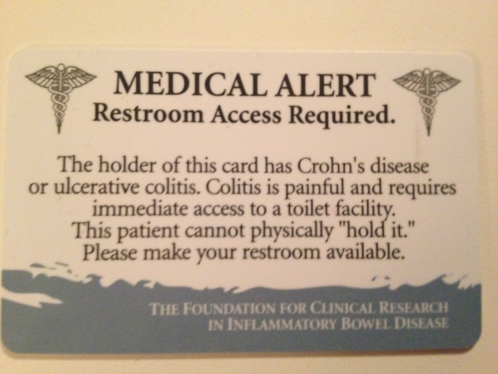 Living As A Crohn S Newlywed My Bathroom Pass