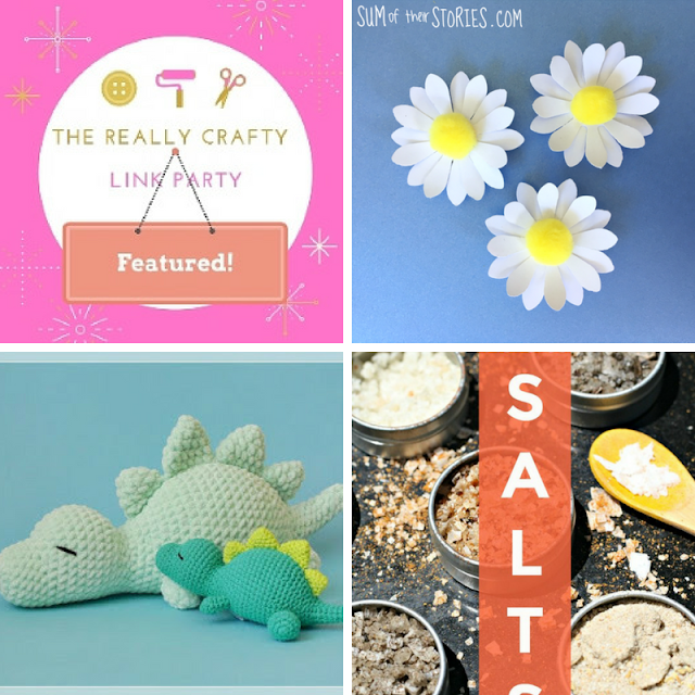 The Really Crafty Link Party #128 featured posts