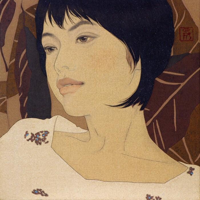 Древняя японская традиция. Ikenaga Yasunari 7