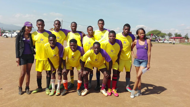 Soccer Team from Makhado in the Sinthumule Kutama Easter Sports Challenge 2016