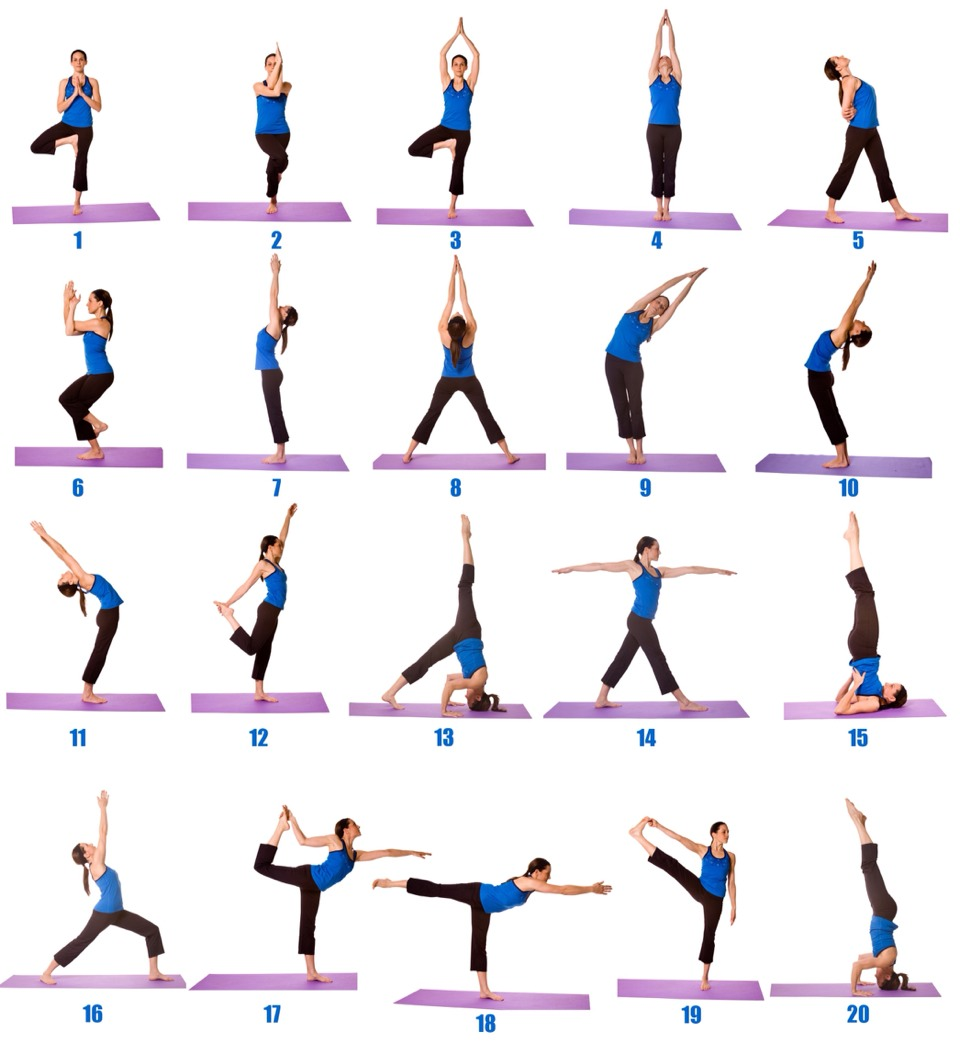 Standing Yoga Poses Warm Up