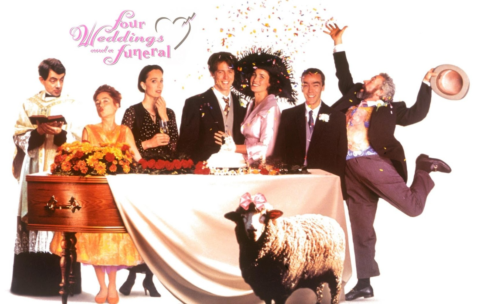 Bilderesultat for four weddings and a funeral